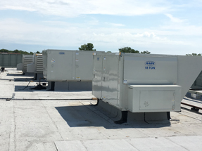 mechanical equipment on roof